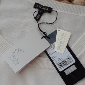 ESCADA CASHMERE TANK..NWT..BUY NOW PRICE ONLY!!!